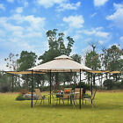 Outsunny 20' x 10' Gazebo Canopy Shelter Patio Wedding Party Tent Outdoor Awning