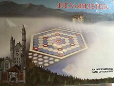 NEW SEALED Vintage 1980 Hex Meister Board Game International Game Strategy