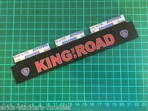 WIDE MUDFLAP (assembled) for 1/14 TAMIYA REEFER 56319 colour print on RUBBER