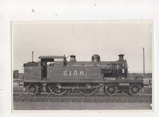 Locomotive 2156 Repro Railway Photo Card 402b