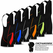 NEW Mens Cycling Bib Shorts Cycle Compression Lycra Tights Pants Coolmax Padded