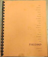 "Due South Fanzine ""Paisano"" SLASH Frasier Vecchio"