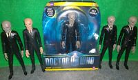 Doctor Who SILENT Action Figure Lot x5 - Used - Silence, Silents
