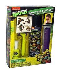 NEW Teenage Mutant Ninja Turtles Kid Bath Time Toy Shave Kit Set