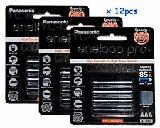 Panasonic AAA x12 NiMH 950mAh eneloop rechargeable battery Japan FREE tracking