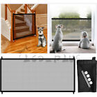 Baby Pets Dog Cat Safety Gate Mesh Fence Home Kitchen Portable Guard Indoor US