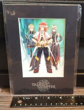 Tales of the Abyss Limited Edition Laser Cel Promo - Bandai Namco PS2 DS