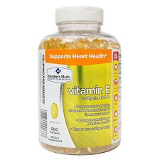 Member's Mark Vitamin E 400 IU Dietary Supplement 500 ct Supports heart health