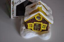 Vintage Regency Alpine Village Ginger House Light-up House with Original Box