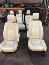 2014 LAND ROVER DISCOVERY 4  LEATHER 7 SEATS SET CREAM ELECTRIC HEATING