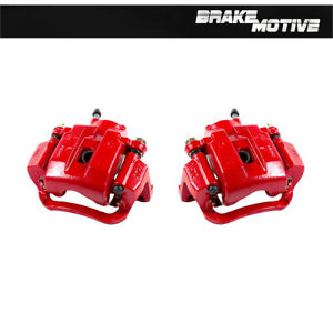 Rear Red Brake Calipers For 2007 2008 2009 2010 2011 2012 - 2018 Toyota Tundra