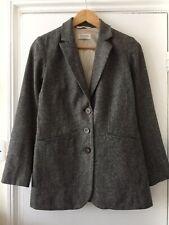 TOAST Tweed Wool Blazer Jacket Size 8