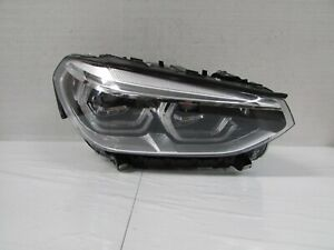 2018 2019 2020 BMW X3 FACTORY OEM RIGHT PASSENGER  LED HEADLIGHT WITH AFS T1