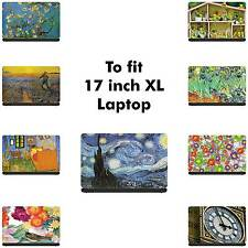 Piel de vinilo Laptop artístico XL 17 in (approx. 43.18 cm)/Calcomanía/Pegatina/Cubierta-somestuff 247-LA10