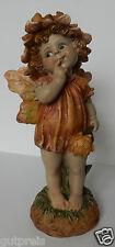 Casa Collection 11429 Elfe mit Blume  21,5 x 10,5 cm, bunt