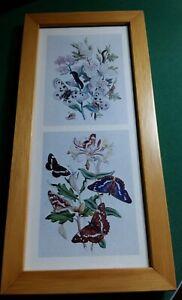 Piccoli quadri graziosi con tema farfalle, cornici stesso colore abbinabile.