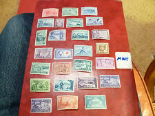 United States Scott 1004 - 1029, the 1952 to 1953 set of 26 Comemoratives Mint