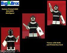BULLSEYE Marvel Custom Printed LEGO Minifigure with ACE CARD & KNIFE