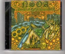 (HQ477) NSOA (New Society of Aparchists), Street Wise - 2010 CD