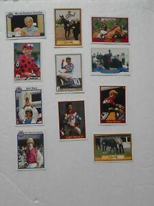 Lot of 11 Jockey Cards