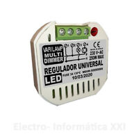 Regulador De Intensidad Pastilla 250w Varilamp MULTI DIMMER Bombillas Led