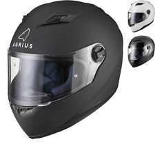 Agrius Rage Solid Motorcycle Helmet Full Face Motorbike Road Bike Pinlock Ready