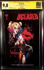 DCEASED #1 CGC SS 9.8 X2 MICO SUAYAN VARIANT BATMAN HARLEY QUINN JOKER ZOMBIE DC