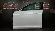 2012 JAGUAR XF DRIVER LEFT POWER FRONT DOOR POLARIS WHITE PAINT CODE NER