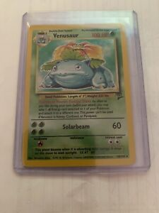 Venusaur 🍃 18/130 Base Set 2 Holo Foil RARE 2000 Pokemon Card PSA 10? 🍃