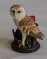 The Country BIrd Collection Barn Owl by Andy Pearce 2002 (French Version)