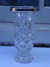Vase Antique Original Crystal & Cut Glass Objects