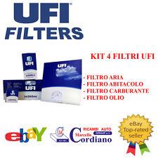 KIT FILTRI OLIO TAGLIANDO UFI ALFA 147 1.9 JTD CODICE MOTORE 937A2000