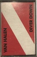 Van Halen – Diver Down Cassette 1982 Warner Bros. Records – M5 3677