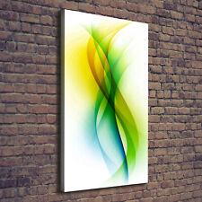 Leinwand-Bild Kunstdruck Hochformat 60x120 Bilder Abstrakte Wellen