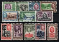 P131512/ BRITISH HONDURAS STAMPS / SG # 150 / 161 MH COMPLETE - CV 272 $