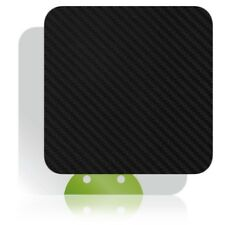 Skinomi Carbon Fiber Black TV Streamer Player Skin for Pivos XIOS DS Media Play