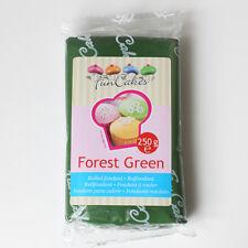 Pasta di zucchero colorata funcakes 250 Gr. - COLORE VERDE FORESTA OFFERTA!