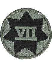 0007 Corps ACU Patch with Fastener (PV-0007C)