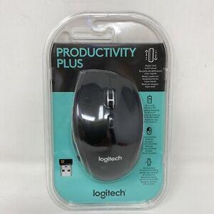 Logitech Productivity Plus Mouse 7 Buttons Vertical Horizontal Scrolling SEALED!