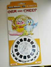 * MOC SEALED * ORM AND CHEEP VIEWMASTER REELS 1983 SET D 266 E RARE SCARCE  G564