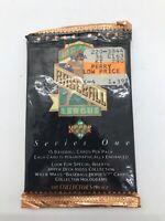 1993 Upper Deck MLB Series 1 Trading Cards - Unopened Pack - Vintage