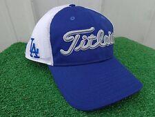 Titleist LA Dodgers MLB Mesh Back Adjustable Snap Back Blue Golf Hat Cap NEW