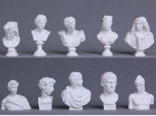 New 10pc Bust Sculpture Statue Resin Sketch Draw Plaster Cast Artist Model Decor