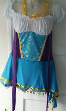 Sexy Beer Girl Maid Womens Fancy Dress Up Costume Hen Party Outfit size M
