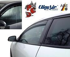 ClimAir WINDABWEISER Regenabweiser smoke VORNE + HINTEN VW Golf 7 Variant 13+