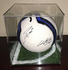 GIANLUIGI BUFFON ANDREA PIRLO signed autographed Italy Puma soccer ball Juventus