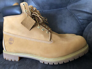 Timberland Premium Leather Waterproof Boots