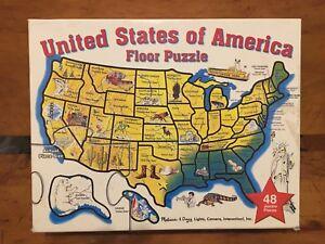 United States Of America Floor Puzzle