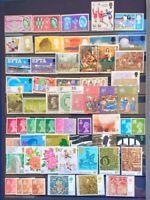 British Stamps betwen 1961 at 1989