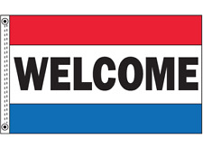 Welcome Flag Car Dealer Advertising Automotive Sign 3x5 Nylon Flag